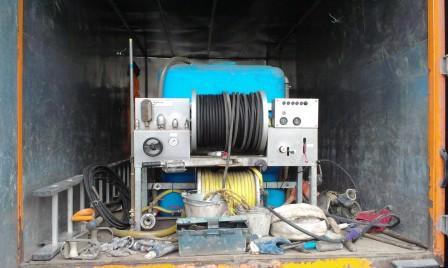 Установка высокого давления на базе грузового автомобиля